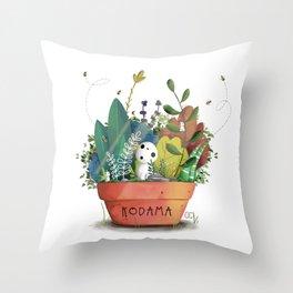 Kodama Throw Pillow