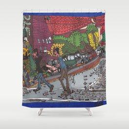 Jills Street - New York Shower Curtain