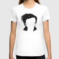 matty healy T-shirts featuring Matt Healy Silhuette Drawing by summergirl