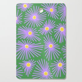 New England Asters Cutting Board