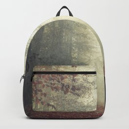 hOme - misty forest path Backpack