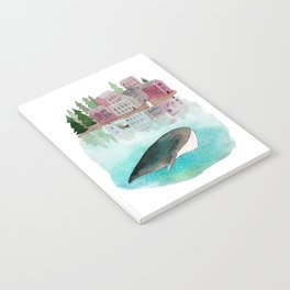 A whale is passing by Notebook