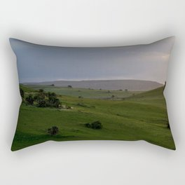 Rolling hills at the Wild Coast Rectangular Pillow