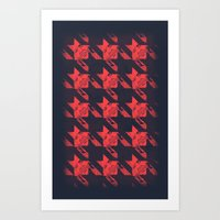 westeros Art Prints featuring The Houndstooth by Kenneth Wheeler