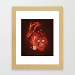Mondays Framed Art Print