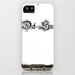 Del Sur - The Drifter iPhone Case