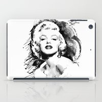monroe iPad Cases featuring Monroe by Ron Jones The Artist