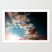 heaven Art Prints featuring Heaven by Sofia_Katsikadi