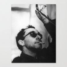 Jean-Luc Godard Canvas Print