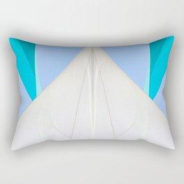 Abstract Sailcloth c2 Rectangular Pillow
