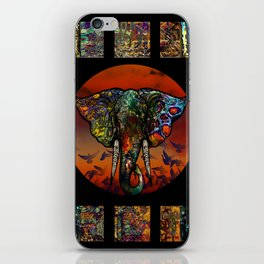 Elephant 1 iPhone Skin