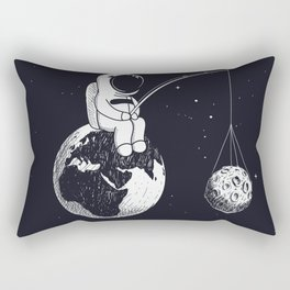 Caught Me a Planet! Rectangular Pillow