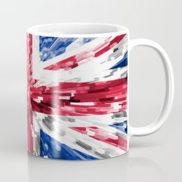 Extruded Flag of the United Kingdom Coffee Mug