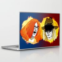 coven Laptop & iPad Skins featuring Burn the Witch by Brieana