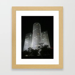 Night in Tel-Aviv Framed Art Print