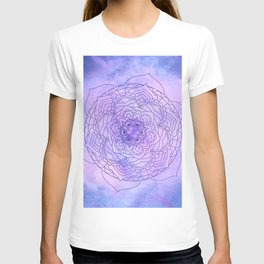 Waterolor Mandala FLower T-shirt