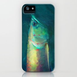 Fish Frown iPhone Case