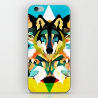 wolves iPhone & iPod Skins featuring wolves by Alvaro Tapia Hidalgo