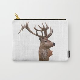 Deer Low poly Carry-All Pouch