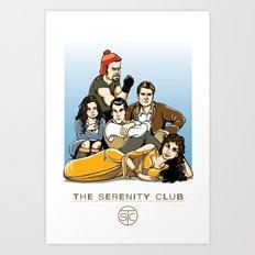 The Serenity Club Art Print