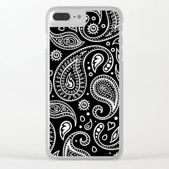 PAISLEY Clear iPhone Case