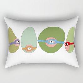 Ninja Avocados Rectangular Pillow