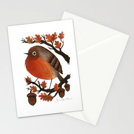 English Robin Stationery Cards