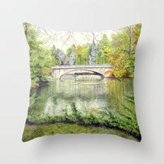Racine, Fall'13 Throw Pillow