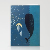 star Stationery Cards featuring Star-maker by Terry Fan