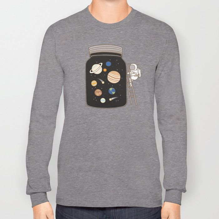 confined space Long Sleeve T-shirt