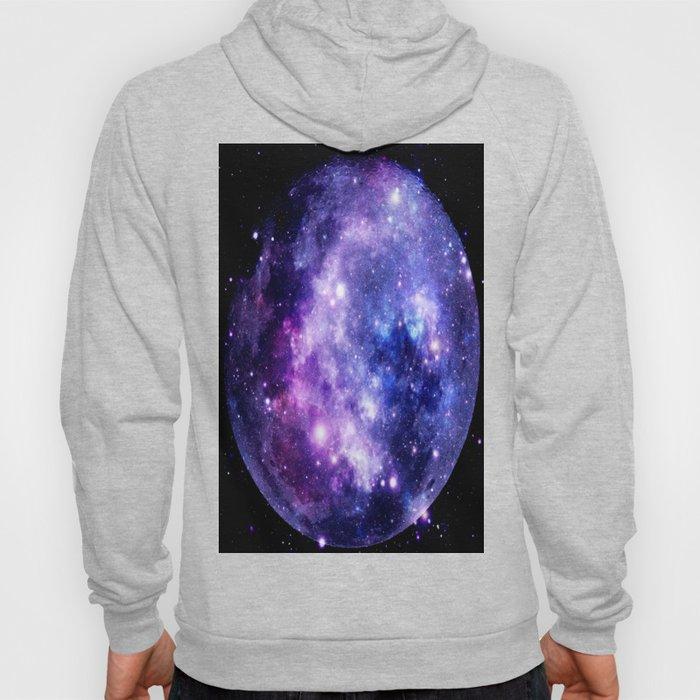 Galaxy Planet Purple Blue Space Hoody