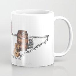 Tennessee Mermaid Coffee Mug
