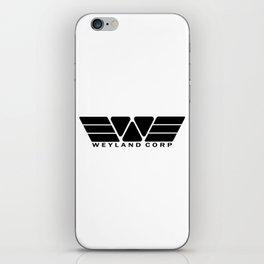 Weyland Corp - Black iPhone Skin