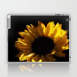 blossoms on black background -06- Laptop & iPad Skin