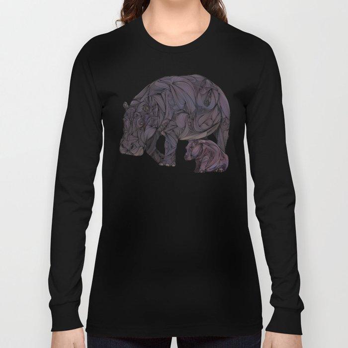 Hippos Long Sleeve T-shirt