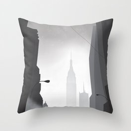 Love in New York Throw Pillow