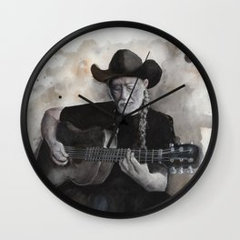 One of the Highway men Wall Clock