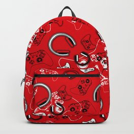 Gamers-Red Backpack