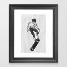 Skater Framed Art Print