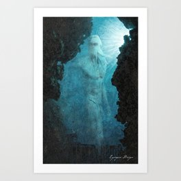 The Lost Colossus of Poseidon Art Print