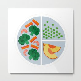 I'm a Cook Smarts Kid! Metal Print