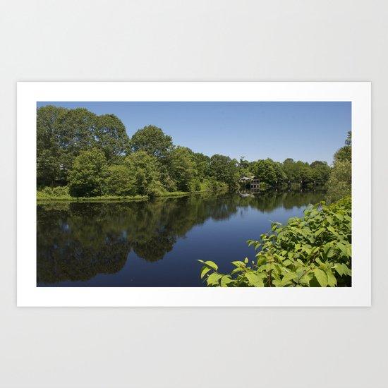 Saugatucket River Art Print