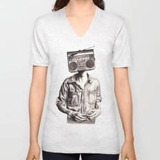 Radio-Head Unisex V-Neck