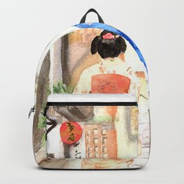Maikos in Japan Backpack