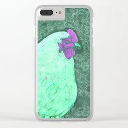 Mint Orp Clear iPhone Case