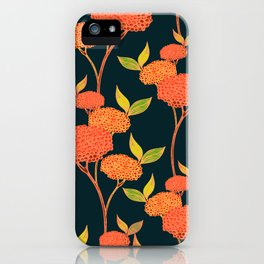 Orange autumn berries. iPhone Case