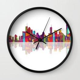 Brisbane Skyline 1 Wall Clock