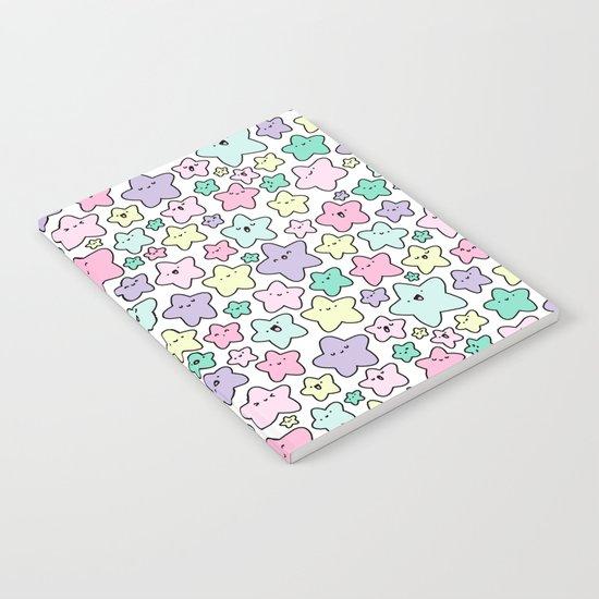Pastel KiraKira Stars Notebook