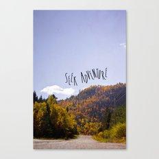seek adventure Canvas Print