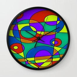 Abstract #61 Wall Clock